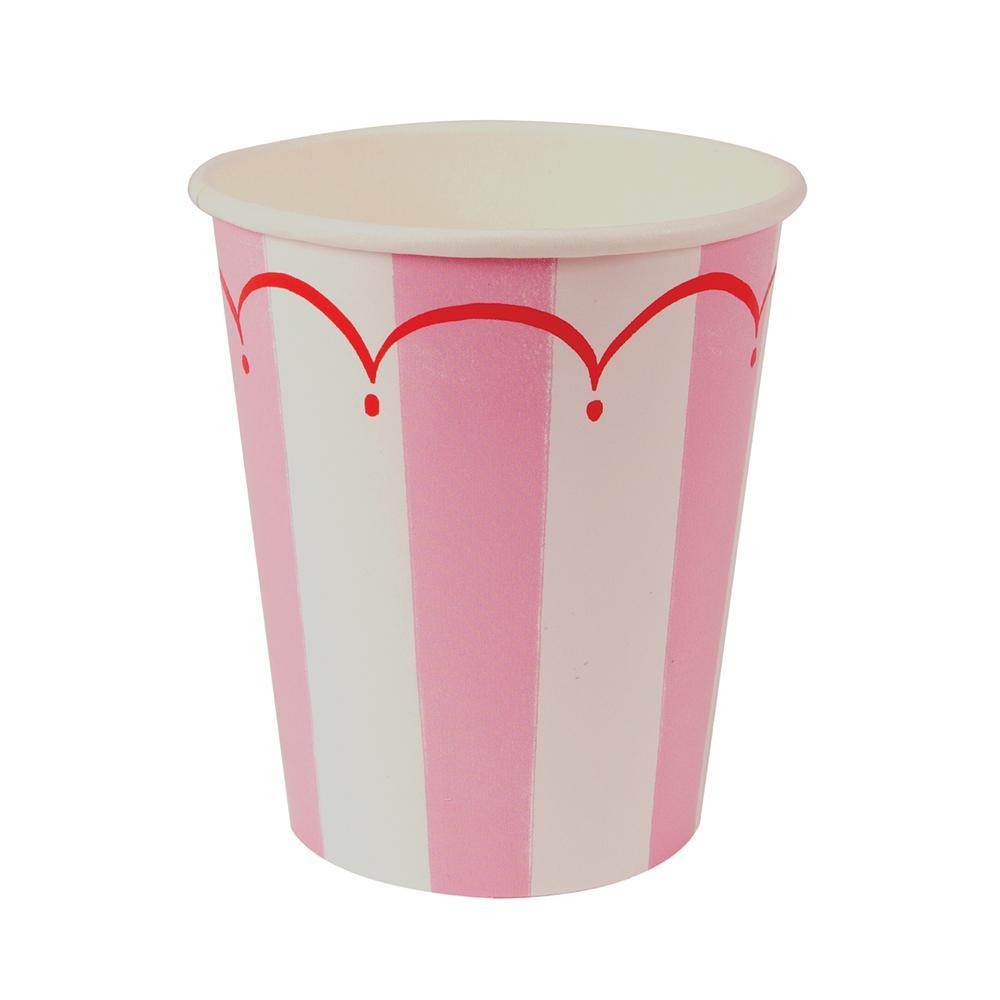 Pack of 8 Meri Meri 260ml Hot and Cold Drinks Flamingo Party Drinking Cups